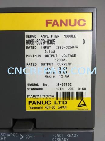 Fanuc: A06B-6079-H305 - CNC Repair & Sales